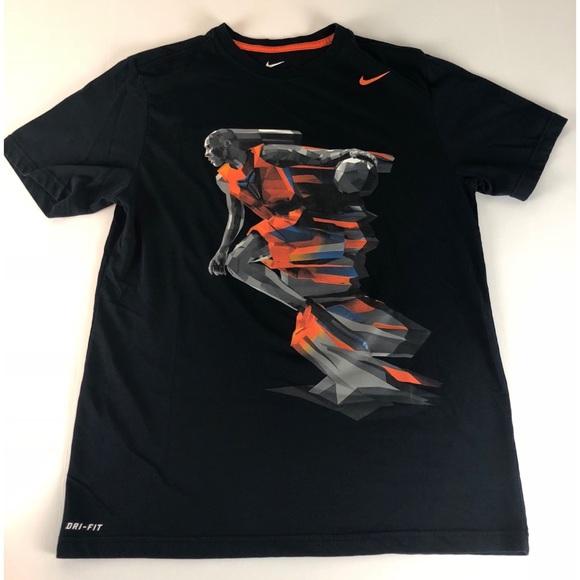 8e2b184c3 Nike Shirts | Drifit Kobe Bryant La Lakers Black Tshirt L | Poshmark